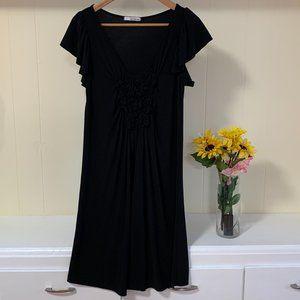 LAST CHANCE Nic & Dom Black Dress Size M (6-8)
